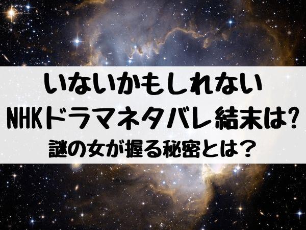 いないかもしれない(NHKドラマ)ネタバレ結末は?謎の女が握る秘密とは?